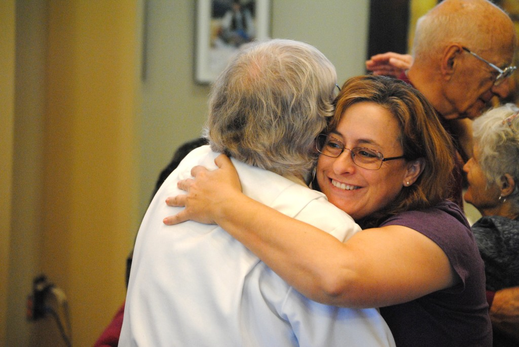 I have learned that there is more power in a good strong hug than in a thousand meaningful words. ~ Ann Hood