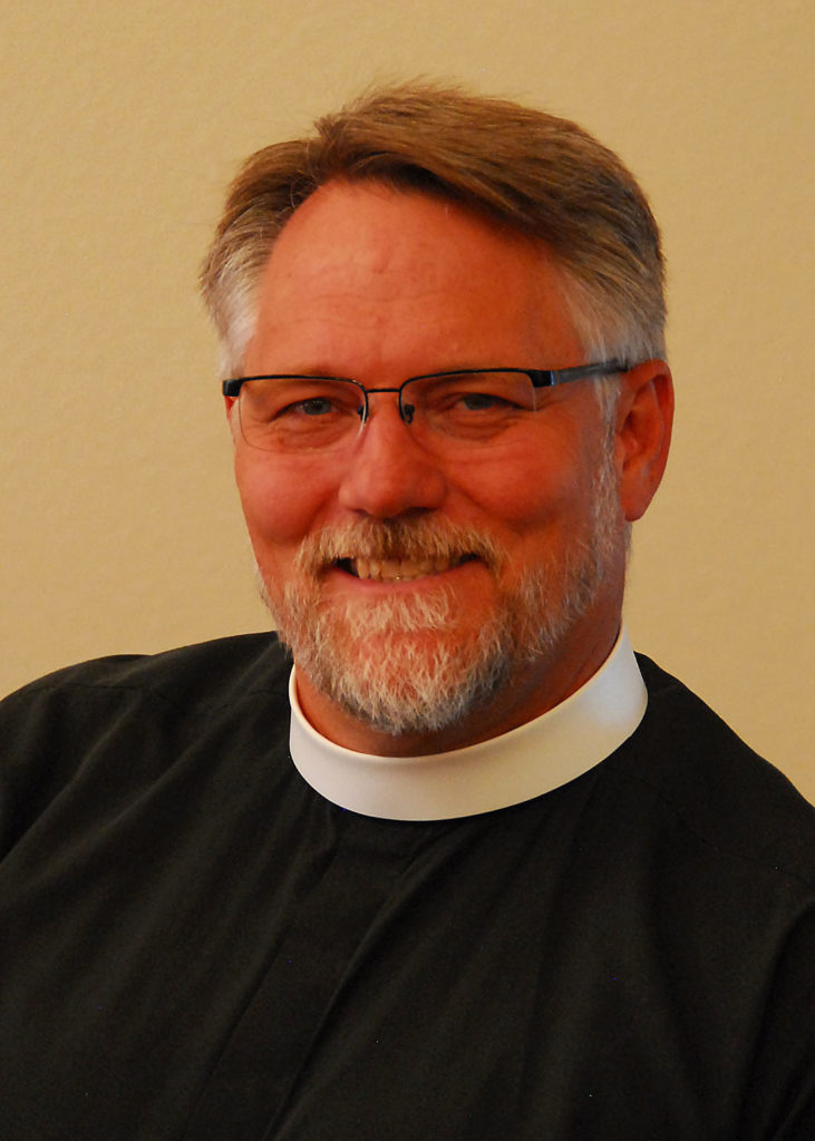 The Rev Brian Winter, Priest In Charge at the Sanctuary, Christ's Episcopal Church, in Castle Rock.