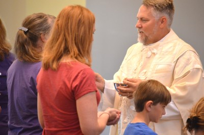 Eucharist is central at the Sanctuary, Christ's Episcopal Church in Castle Rock, CO