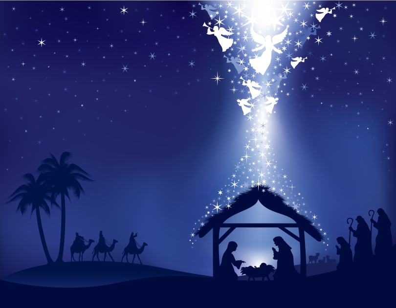 nativity-w-blue-background