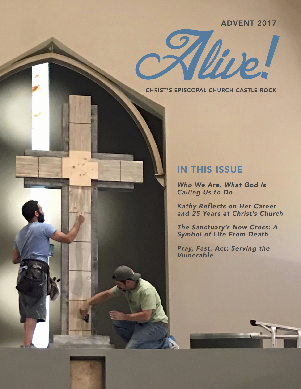 Christs Episcopal Church Alive Advent 2017