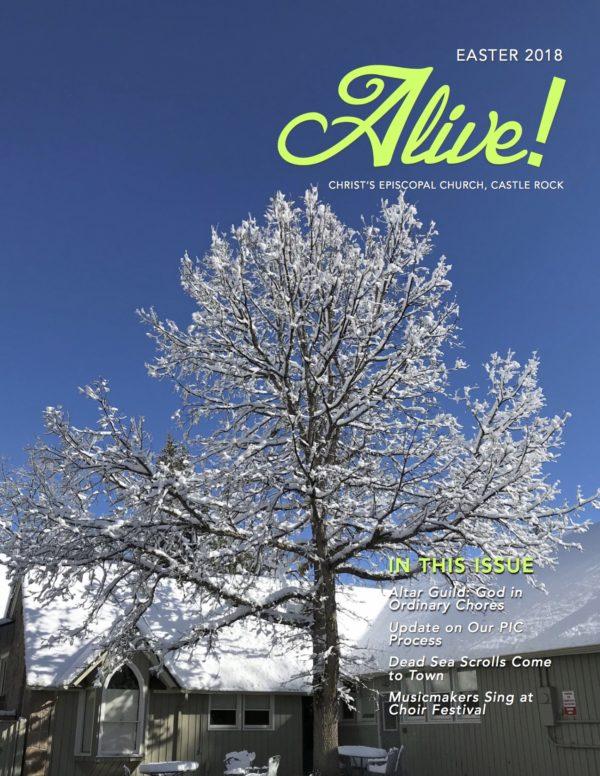 Alive! 4 Easter 2018